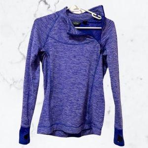 💜HP💜 Eddie Bauer Asymmetrical Zip Pullover, S